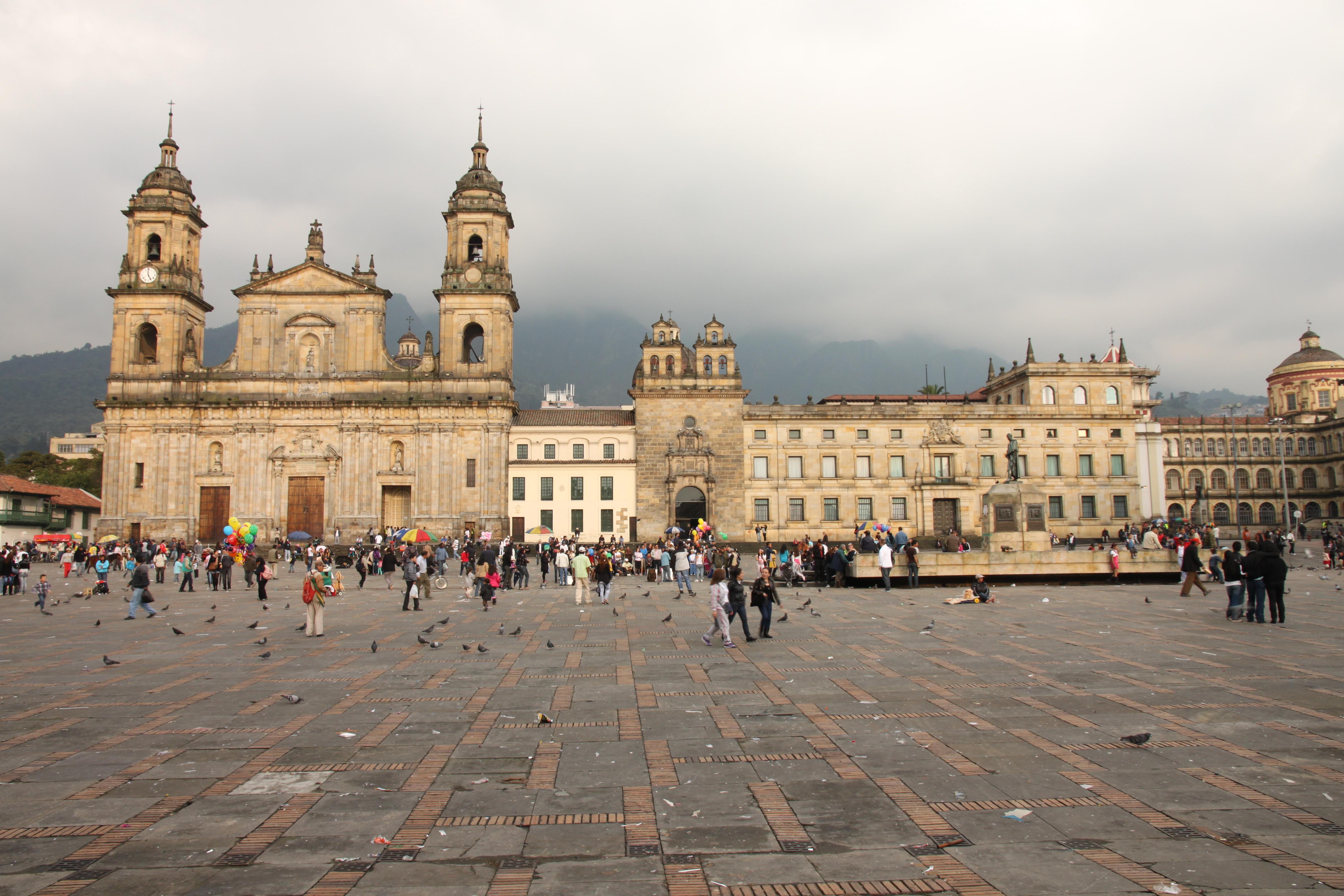 Bolivar Squre Bogota