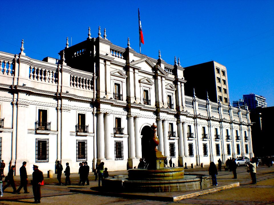 La Moneda Santiago city