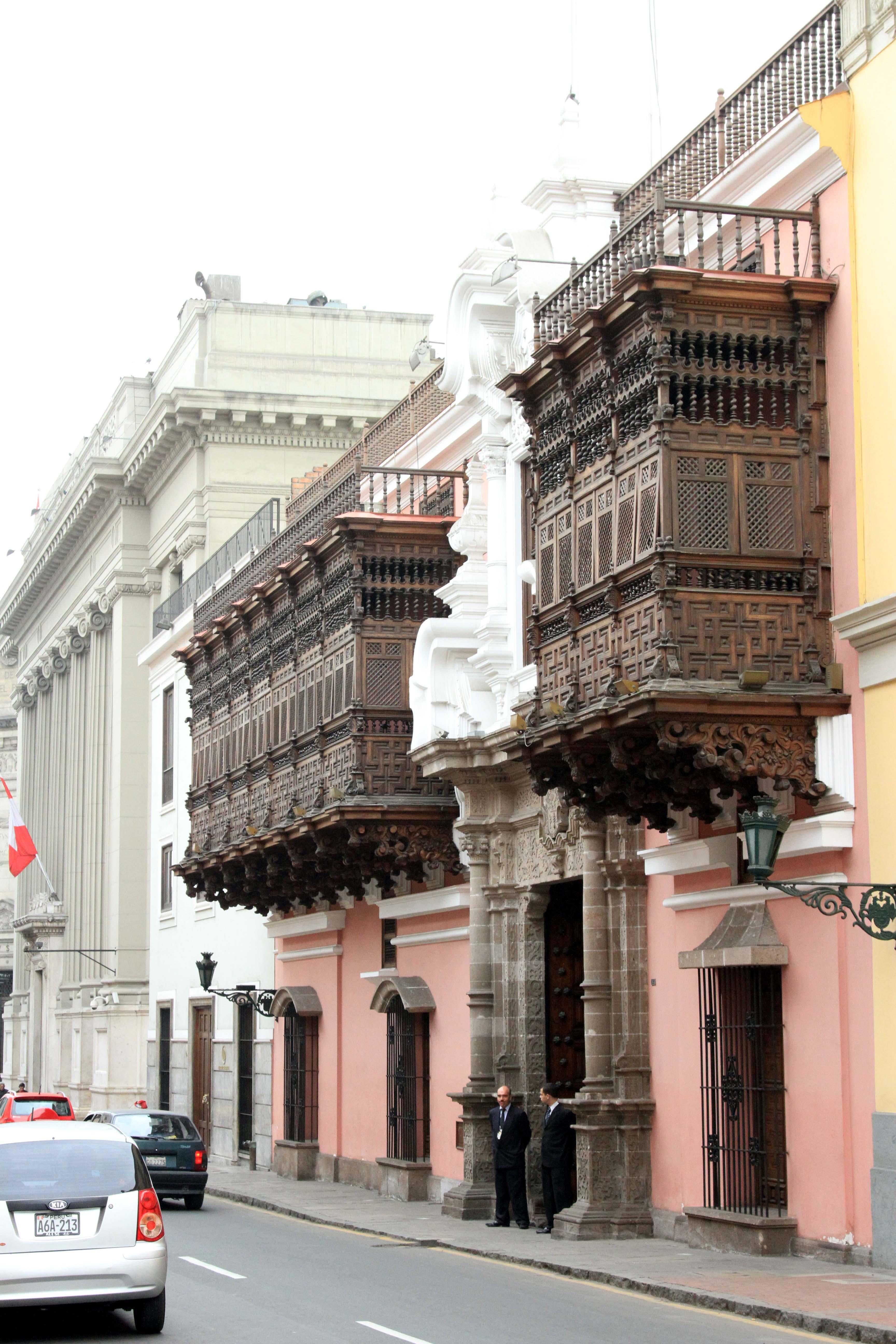Lima Peru torre tagle palace