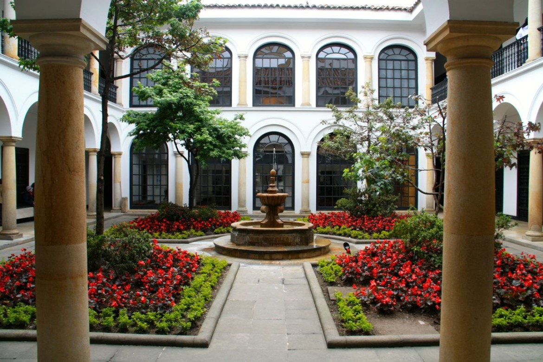 Museo Botero Bogota Fountain