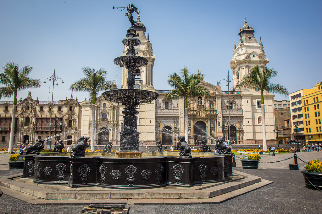 Peru historic centre of lima