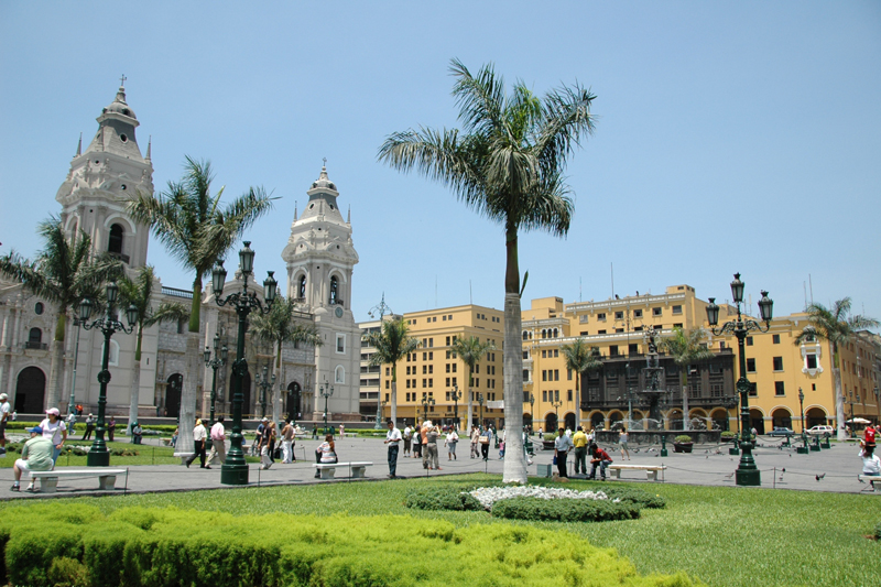 Plaza Mayor,Lima