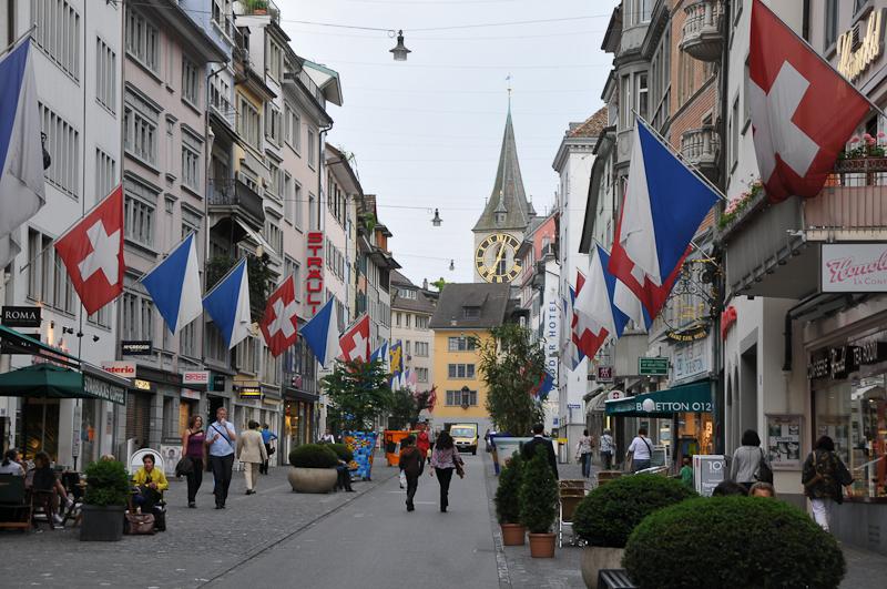 bahnhofstrasse switzerland