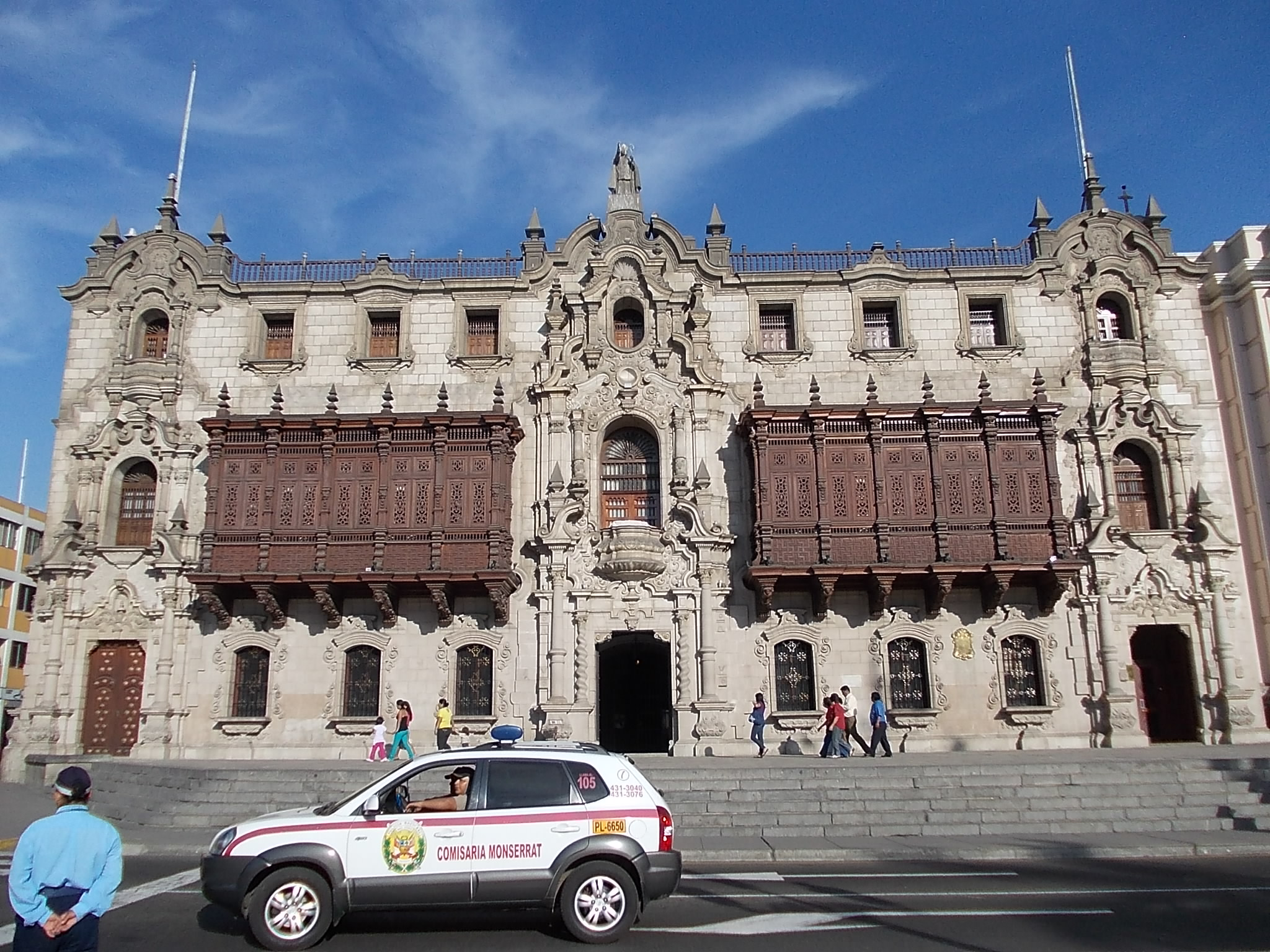 historic centre of lima(torr tagle palace)