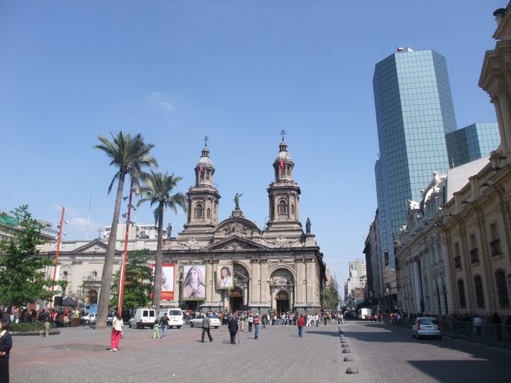 Plaza de Armas Main Square of Santiago(chile)