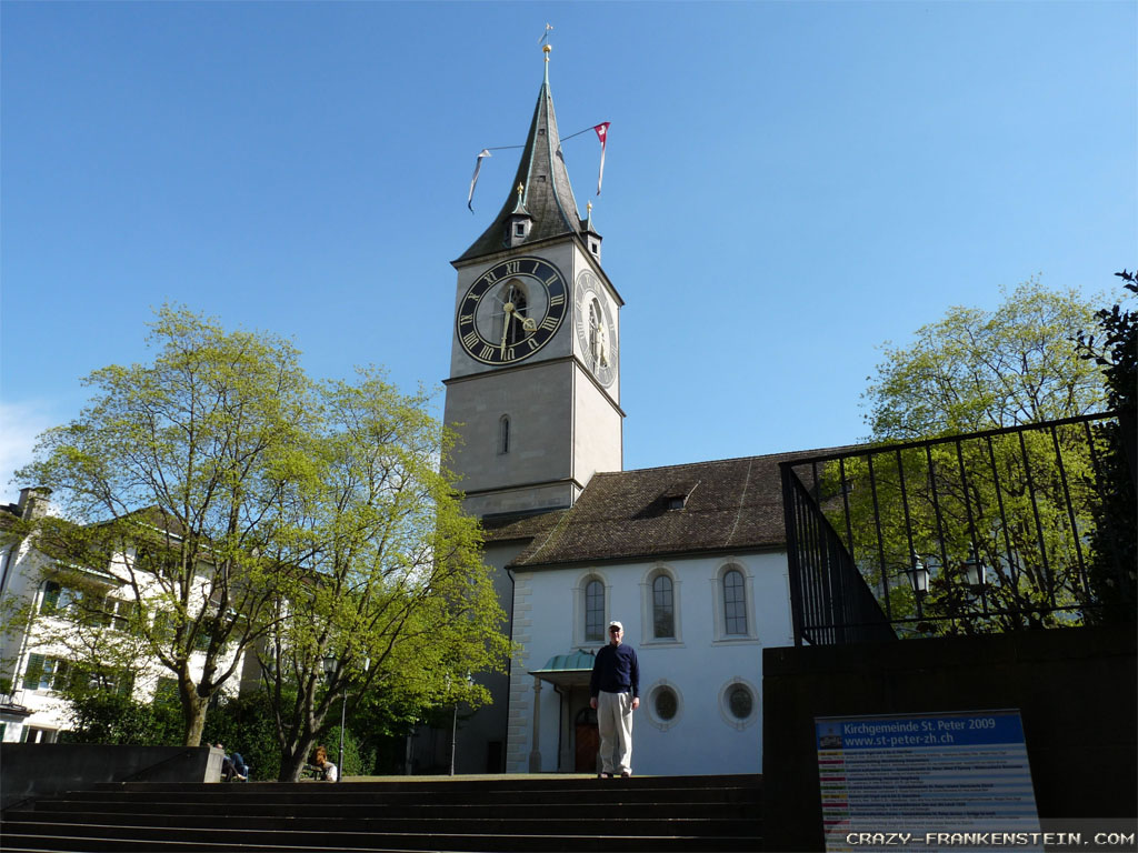 st peterschurch zurich Switzerland