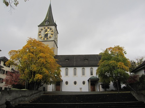 st peters church zurich