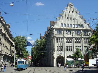 switzerland bahnhofstrasse zurich
