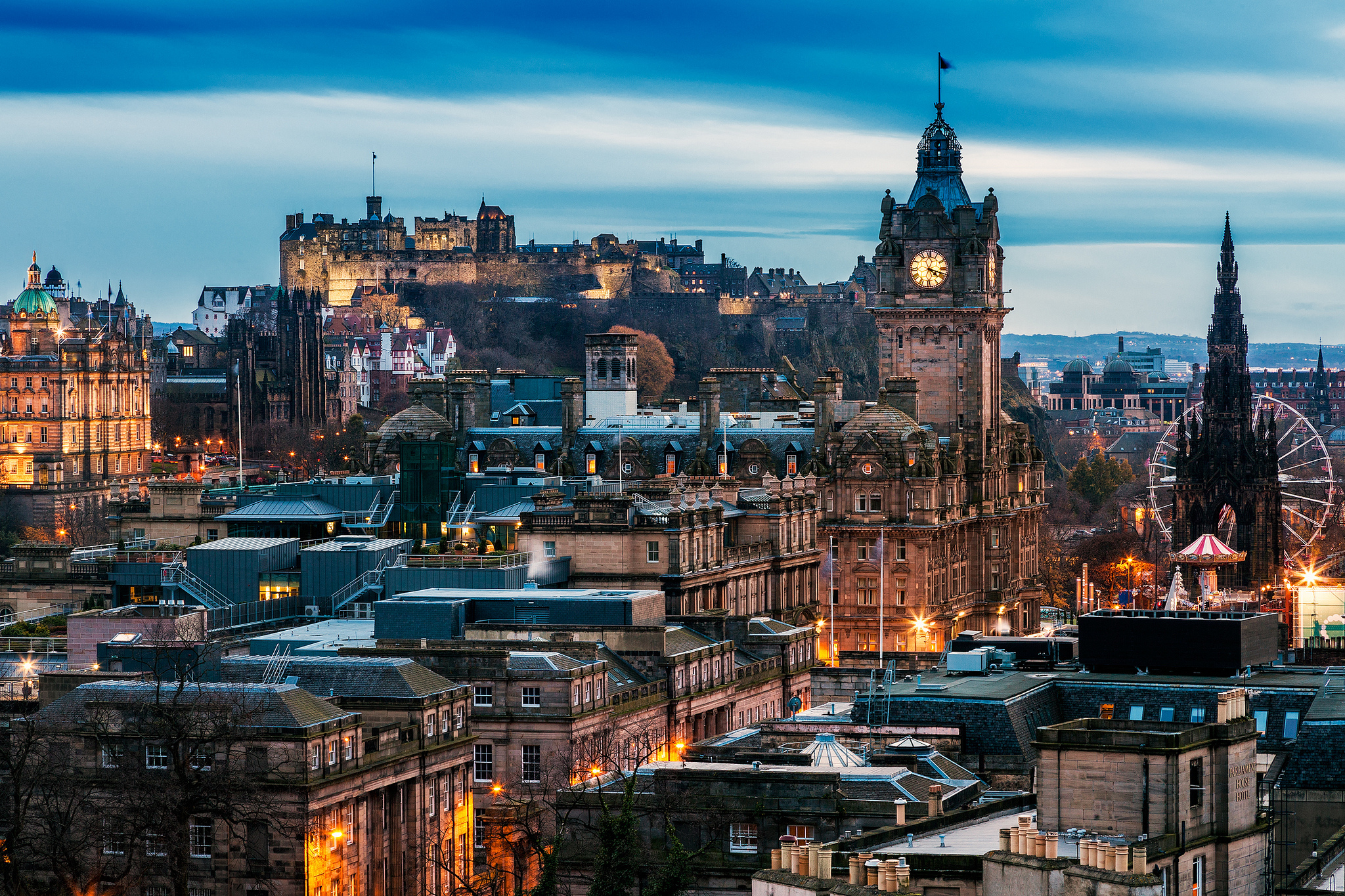Edinburgh City Scotland