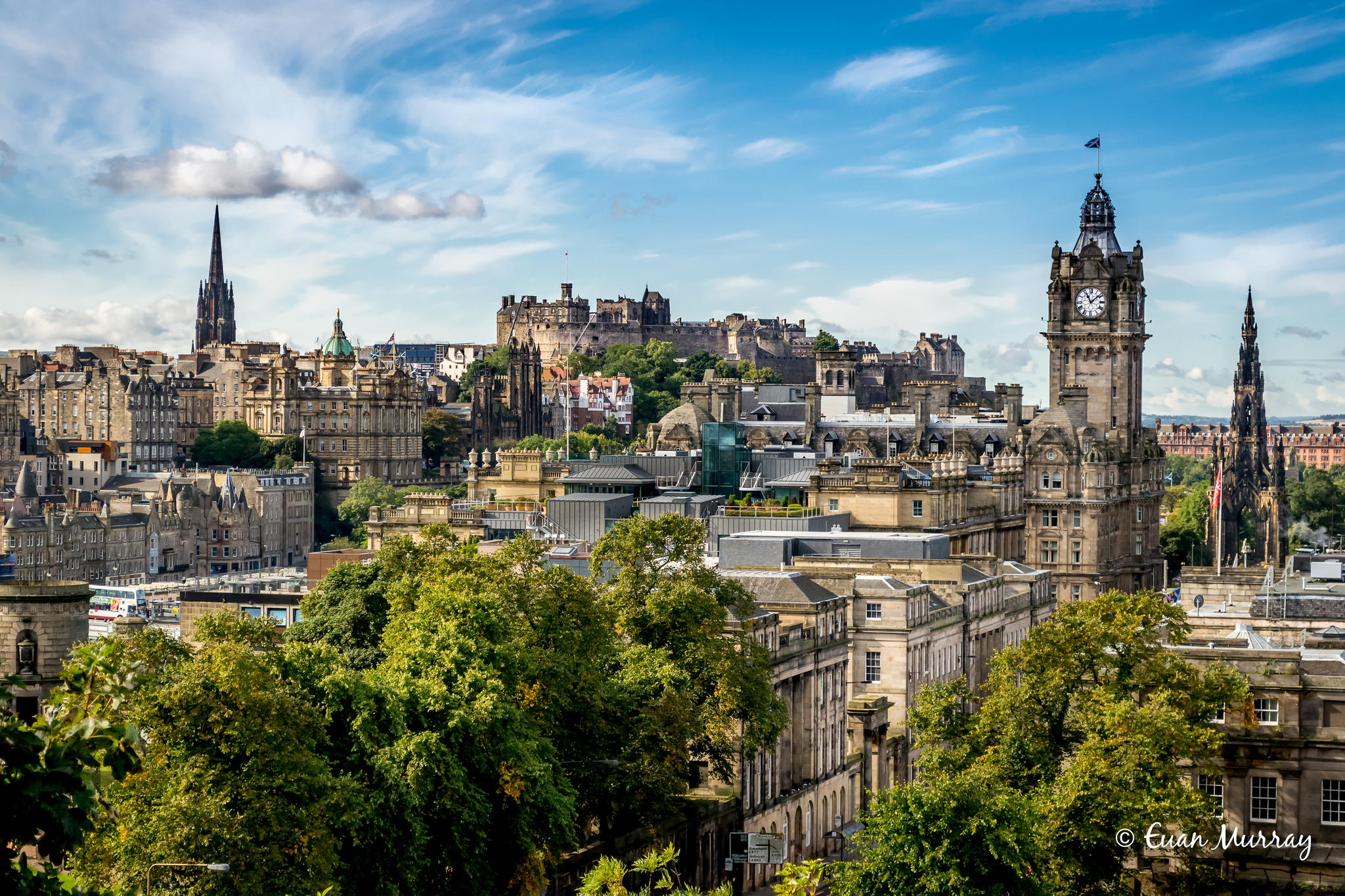 Edinburgh, the capital and historical city of Scotland
