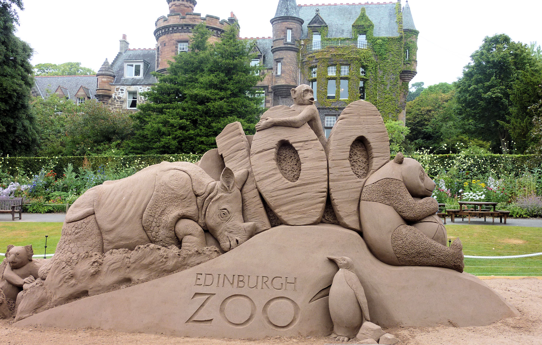 Edinburgh Zoo, Scotland