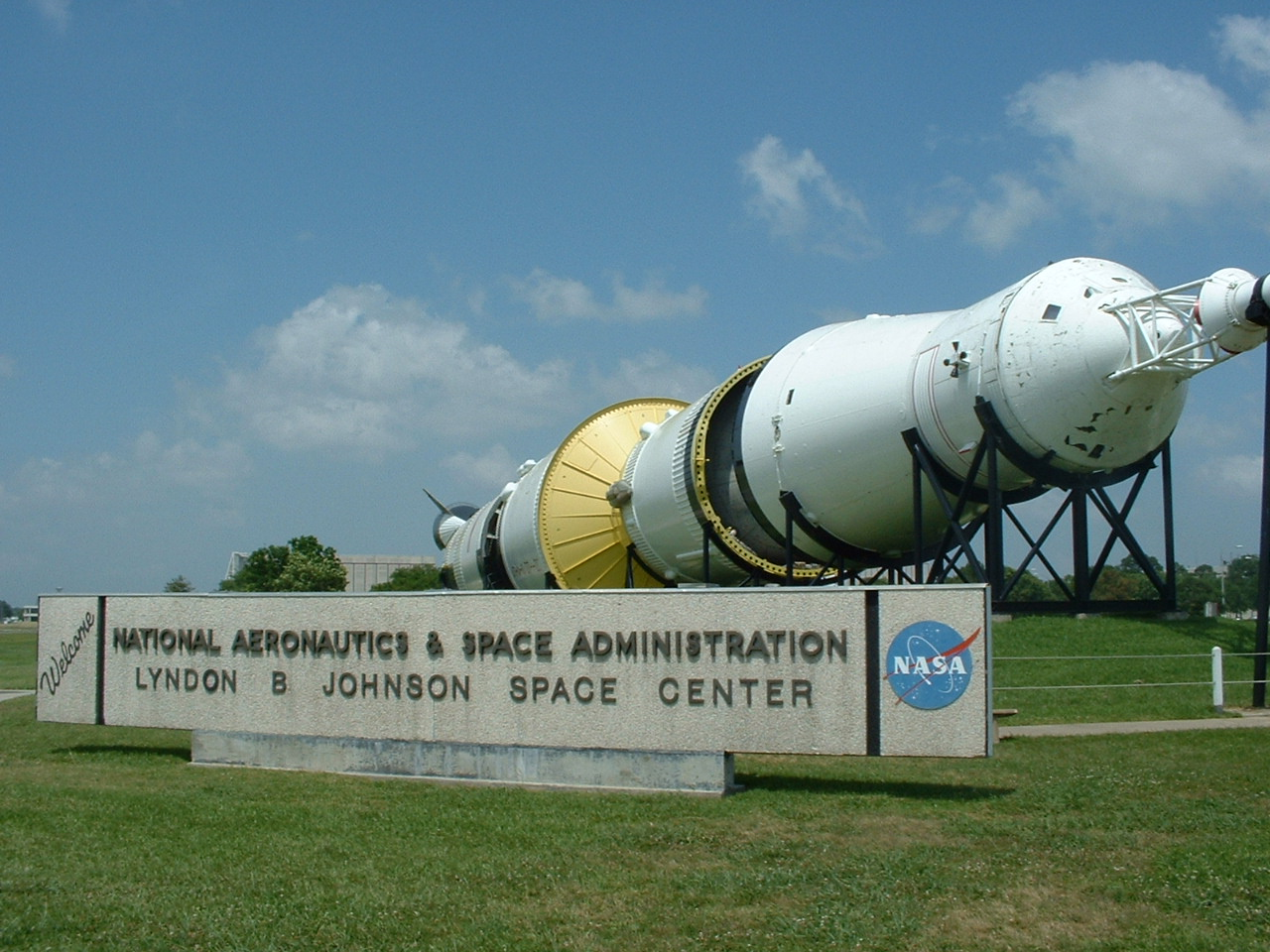 Lyndon B. Johnson Space Center texas