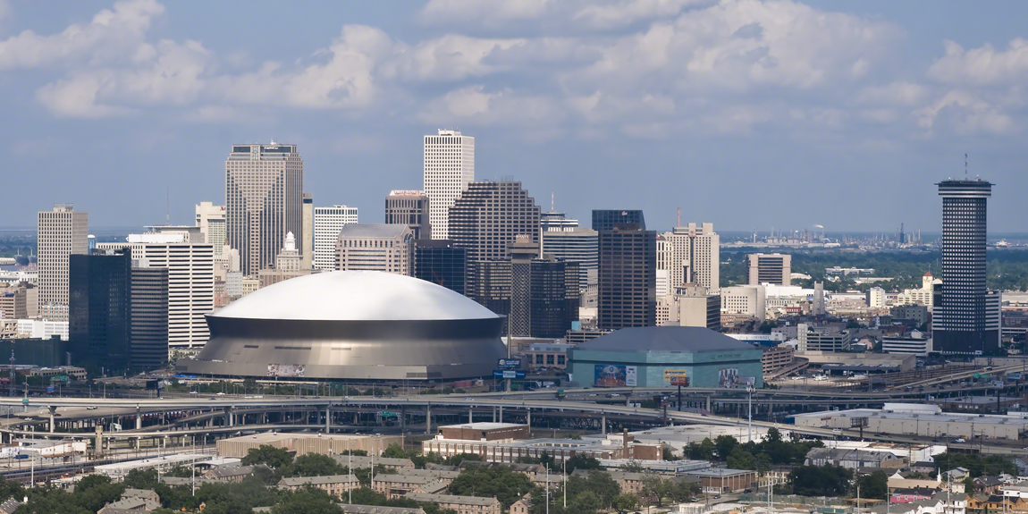 New Orleans Skyline view