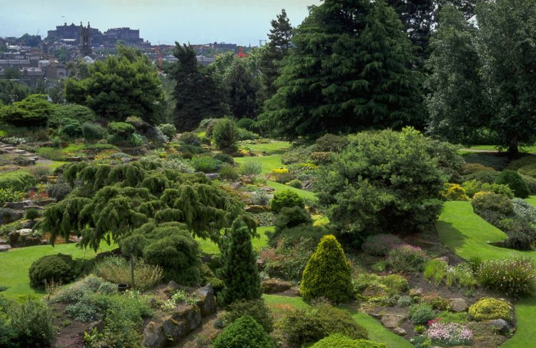 Scotland Royal Botanic Garden Edinburgh