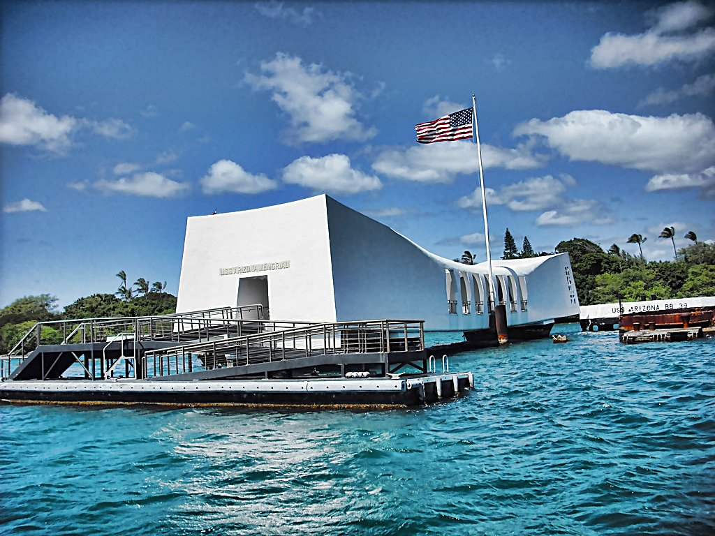 Uss Arizona Memorial honolulu hawaii
