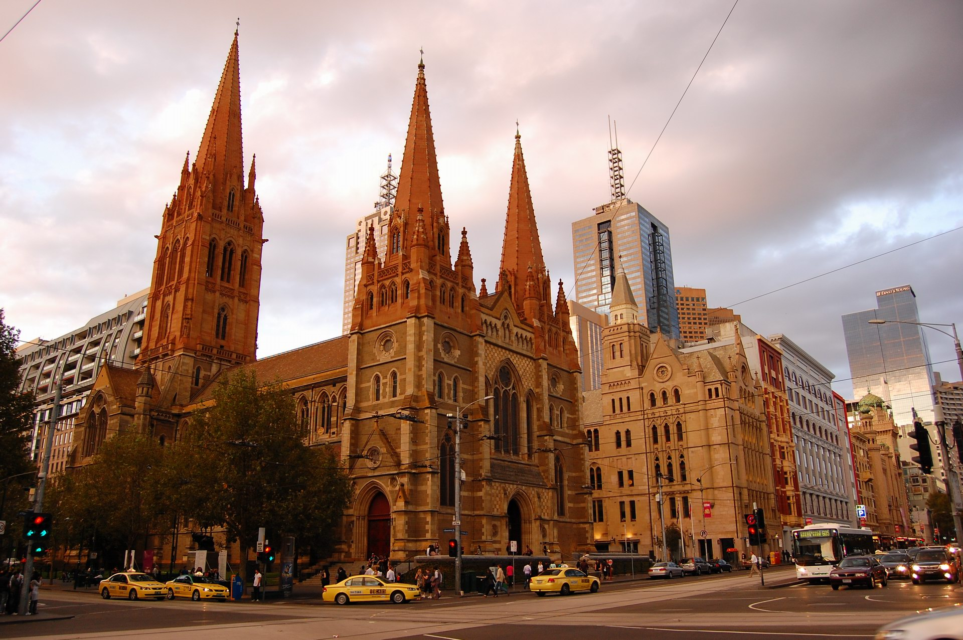 australia st paul's cathedral melbourne