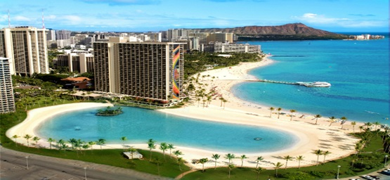 hilton hawaiian village beautiful veiw