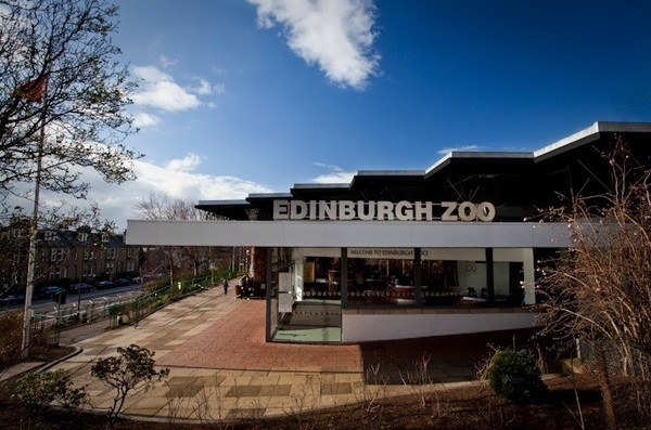 main enterence Edinburgh Zoo