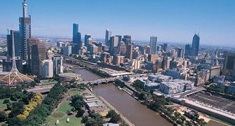 melbourne city center australia
