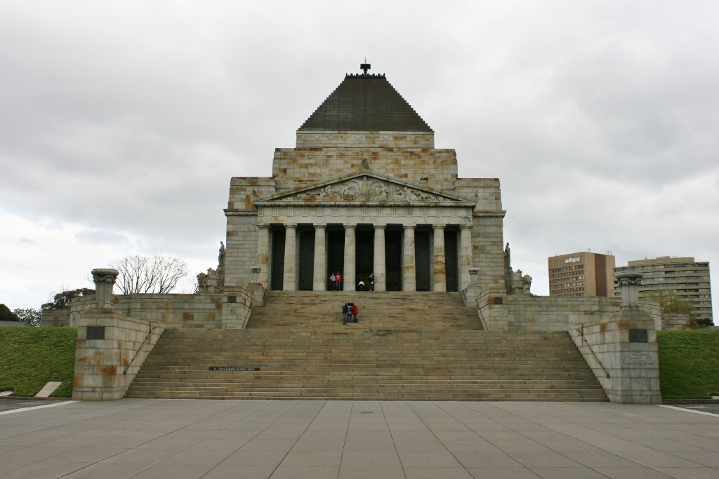 melbourne shrine of remembrance Australia