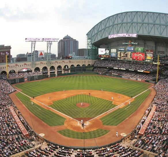 minute maid park during match