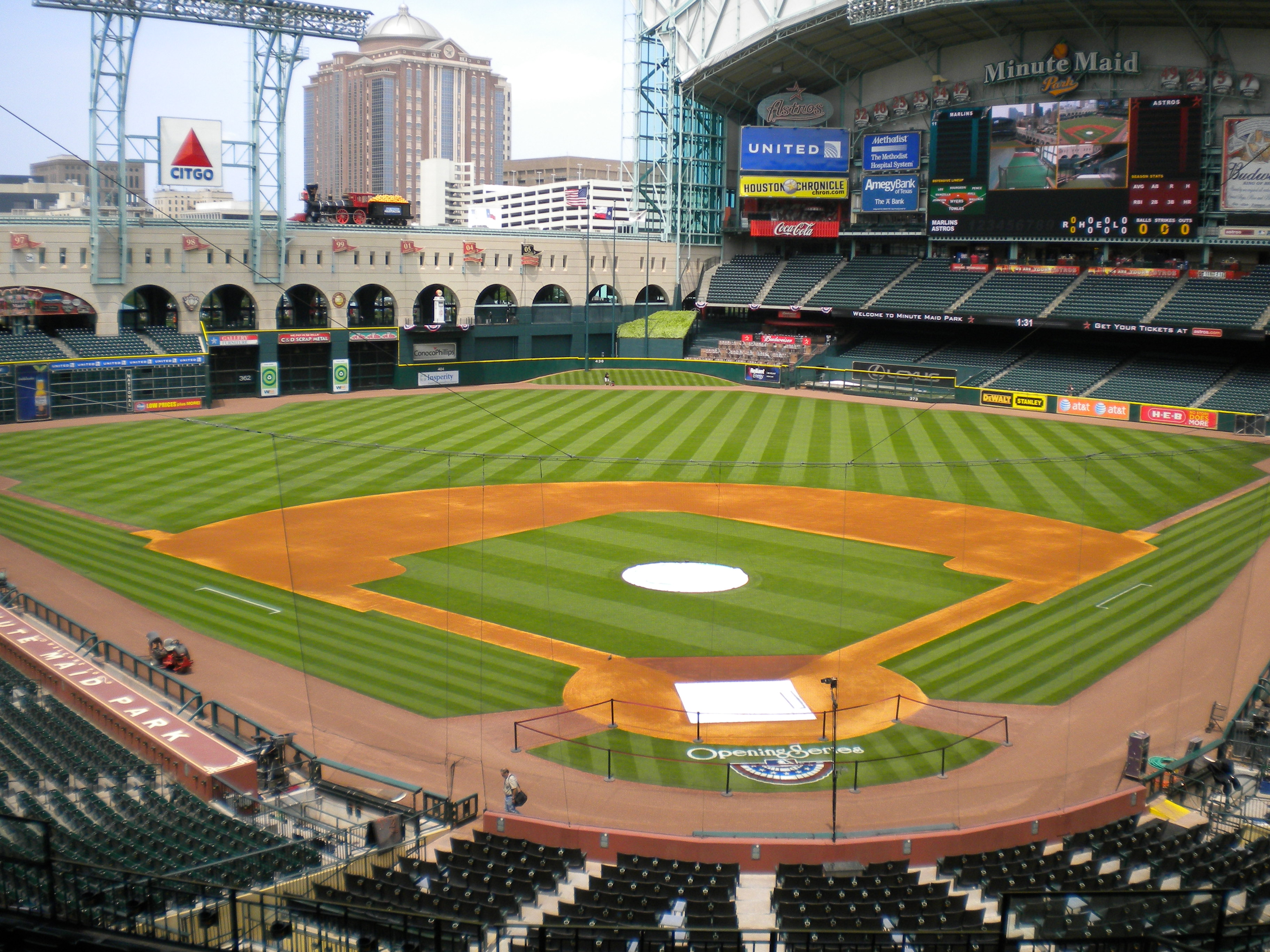 minute maid park houston