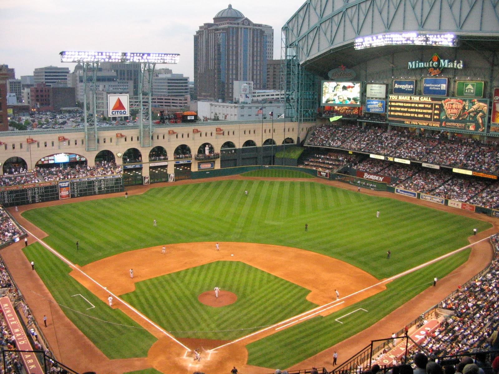 minute maid park houston,texas