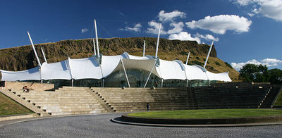 our dynamic earth edinburgh, Scotland