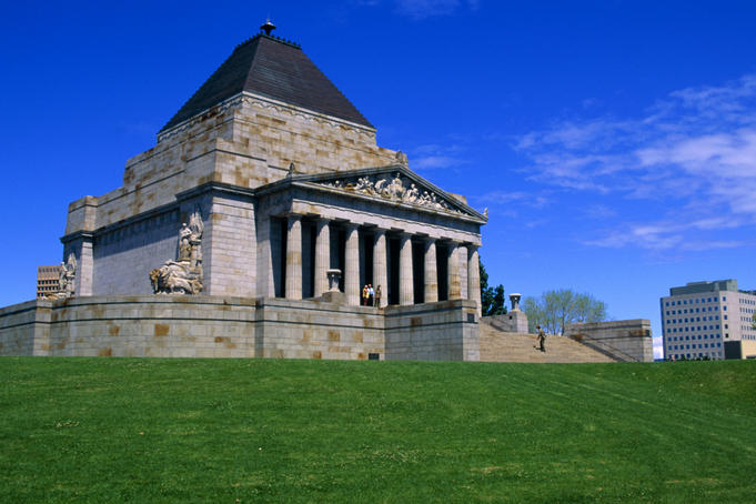 shrine of remembrance melbourne Australia