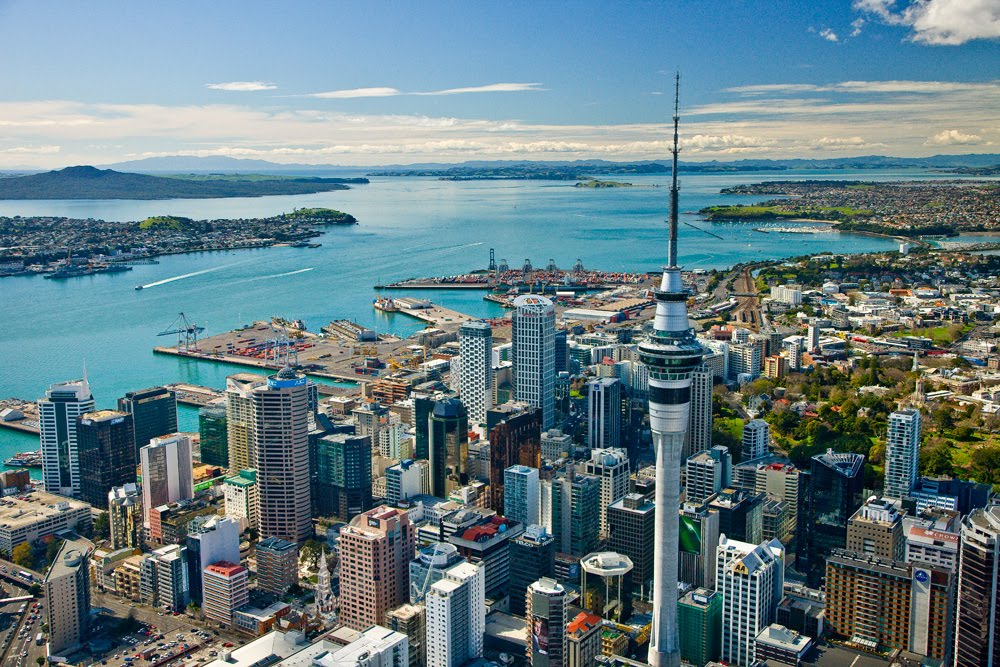 auckland beautiful city of new zealand