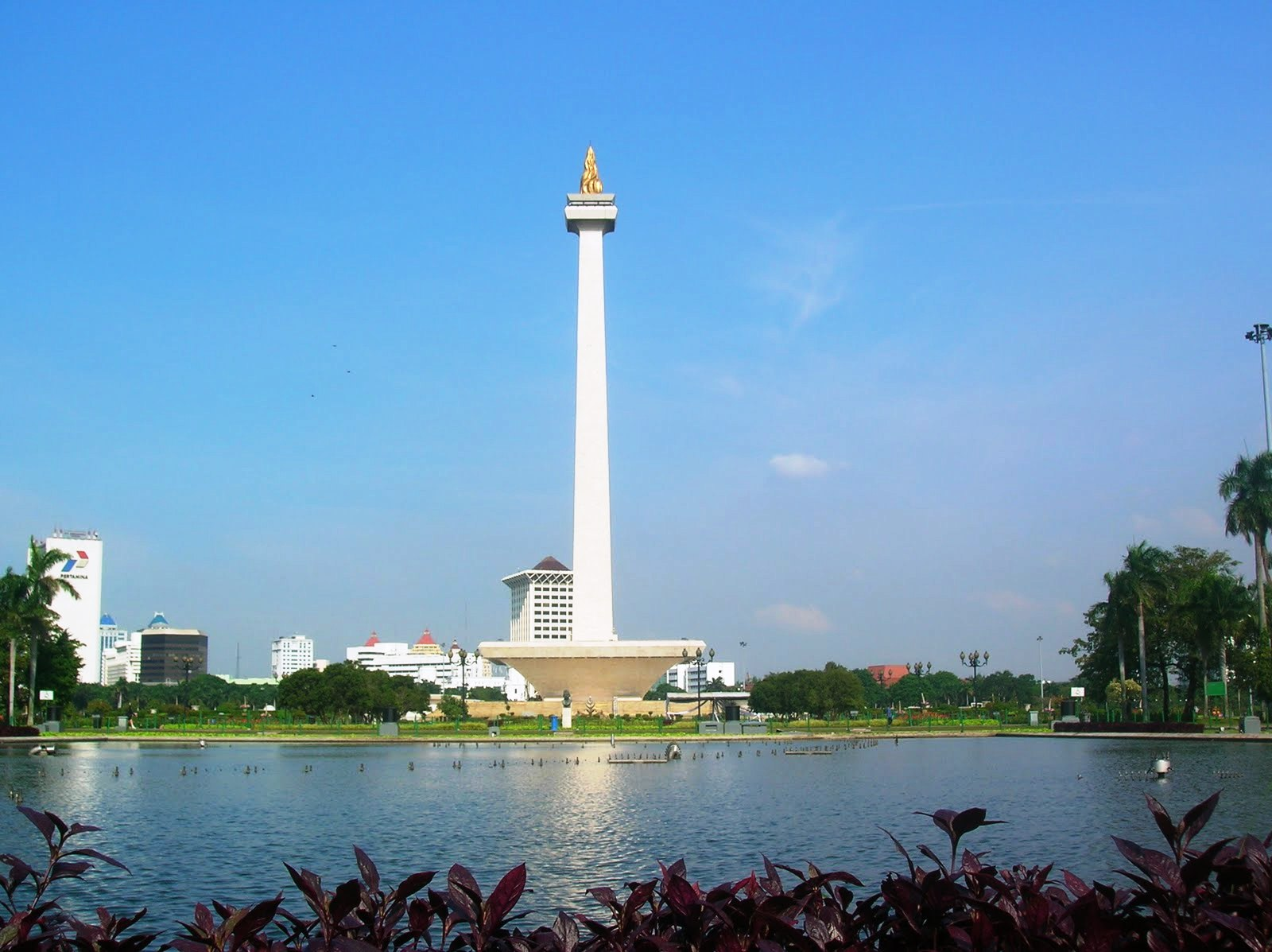 beautiful National Monument in jakarta