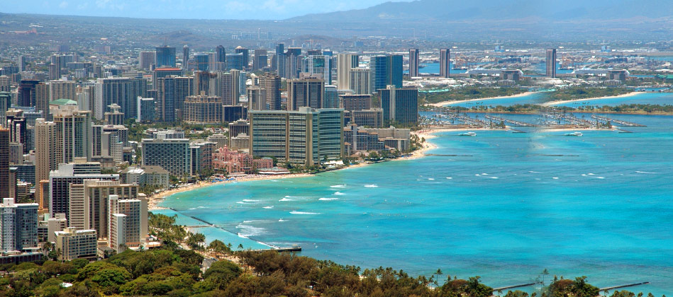 honolulu beautiful city in hawaii state