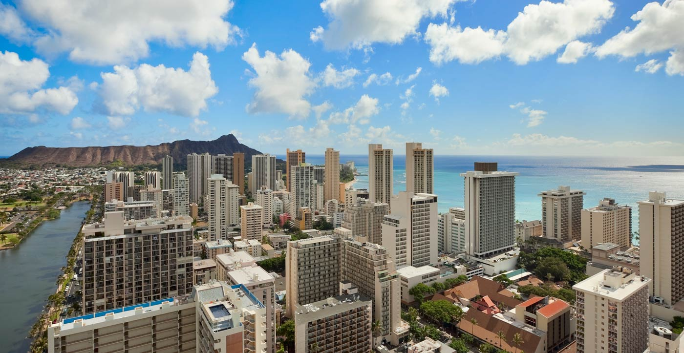 honolulu city skyline
