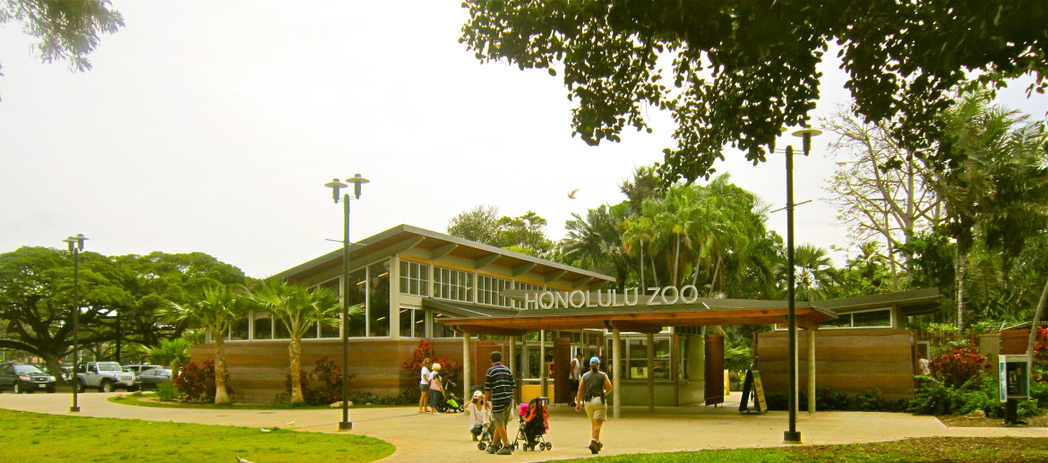 honolulu zoo entrance