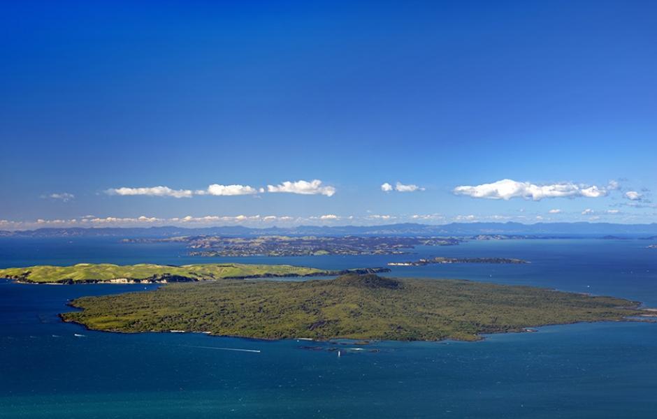 rangitoto island overview