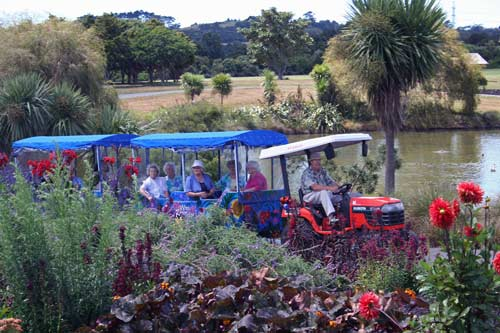 visit of auckland botanic gardens