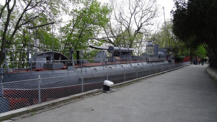 bulgarian torpedo boat drazki in varna