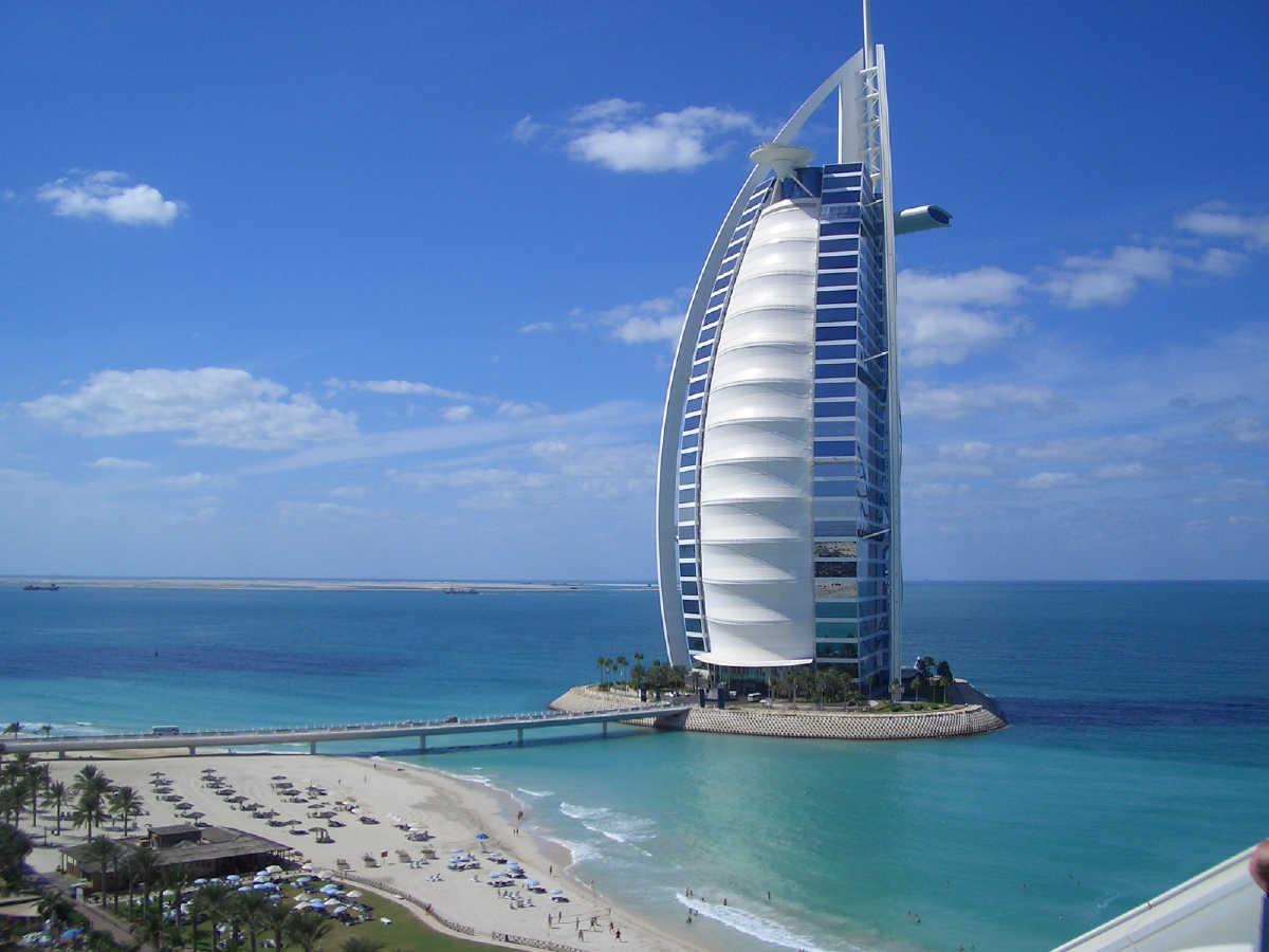 burj al arab beautiful hotel