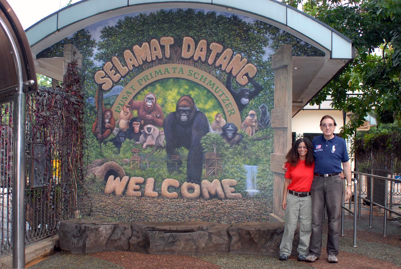 ragunan zoo in jakarta, indonesia