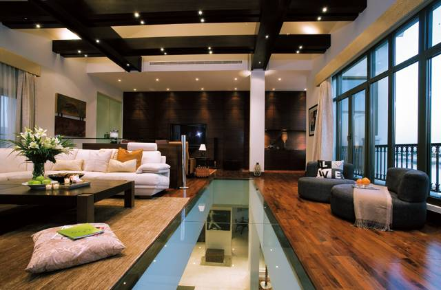 Interior of palm jumeirah's house