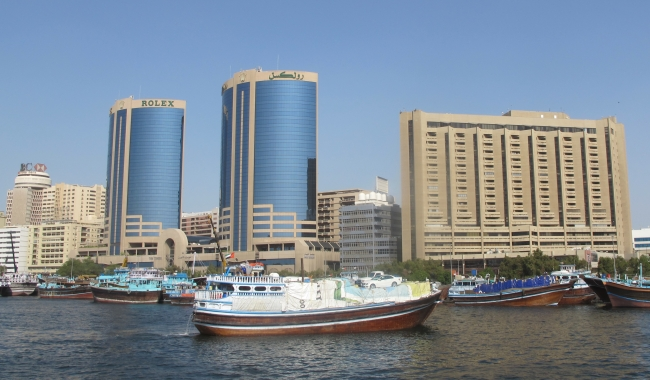 dubai creek in UAE