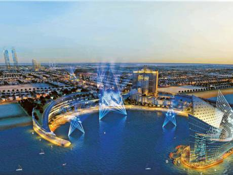 dubai creek is located in dubai