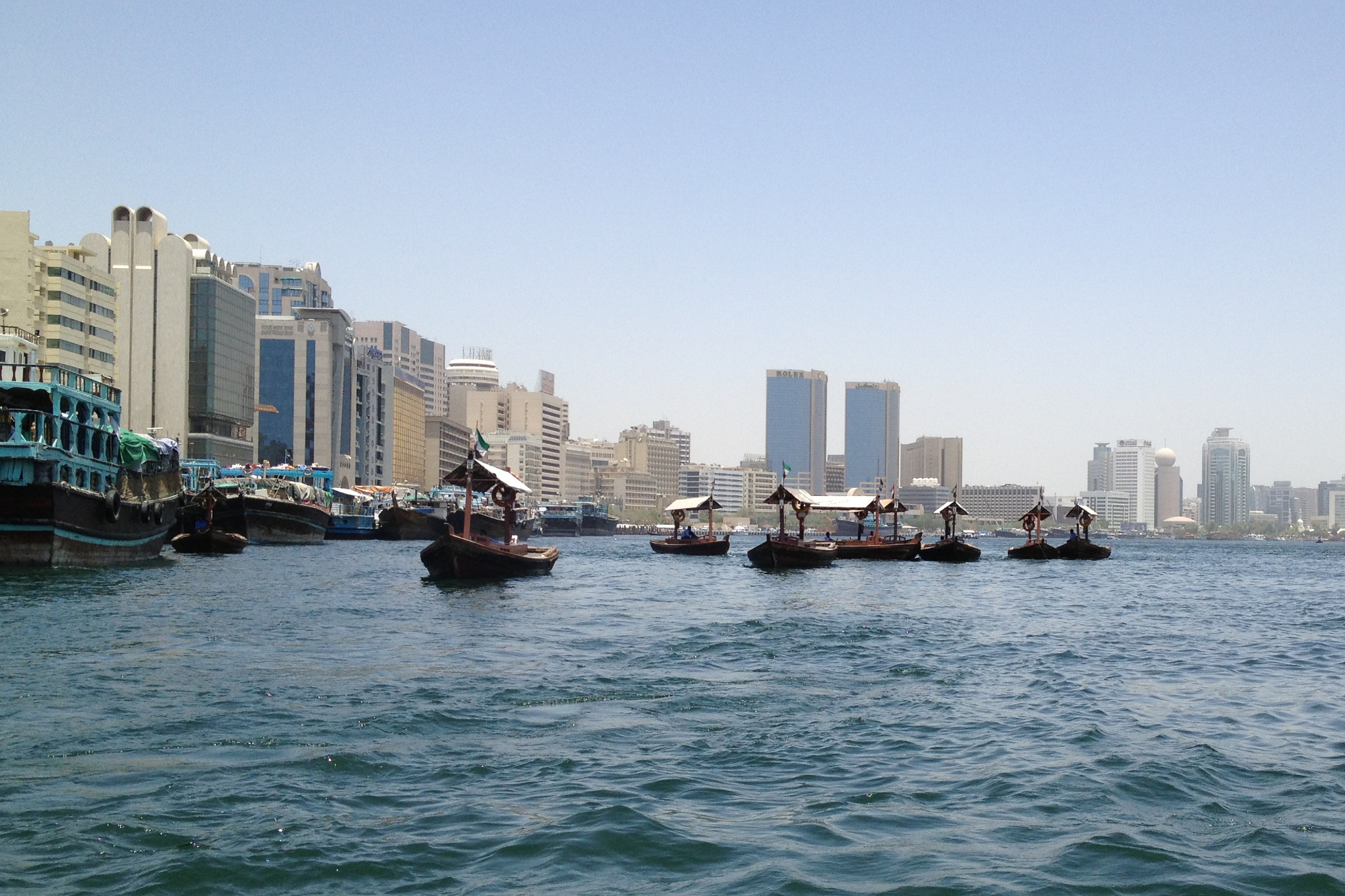 dubai creek is the famous tourist attraction in dubai