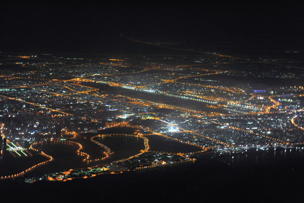 dubai international airport at night beautiful image