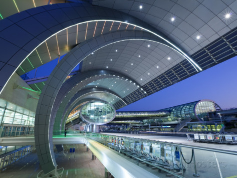 dubai international airport in dubai