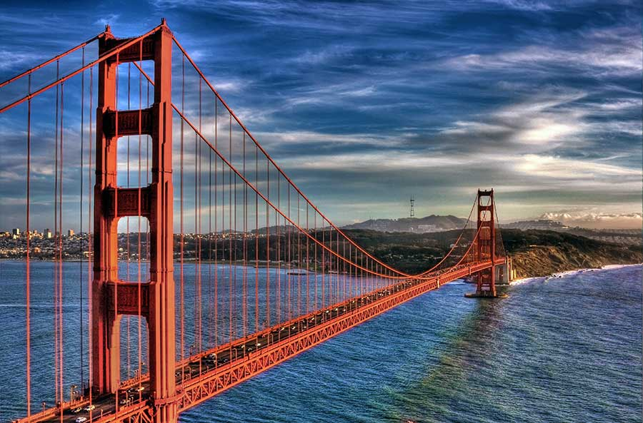 golden gate bridge united states of america