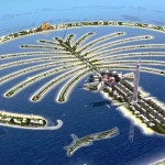 Palm Jumeirah, third biggest artificial island in the world