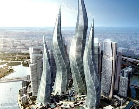 twist towers in dubai