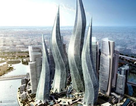 twist towers in dubai