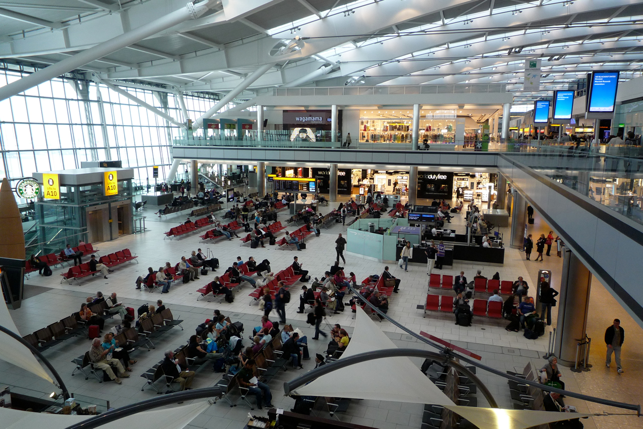 gatwick airport from inside